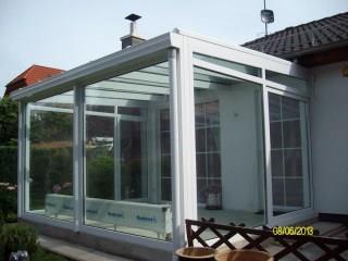 wintergarten pvc aluminium. Black Bedroom Furniture Sets. Home Design Ideas
